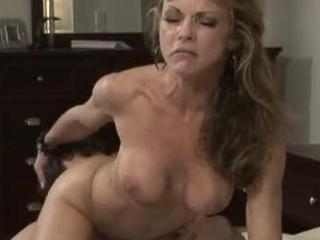 mature woman receives a younger dick