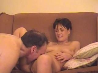 amateur wife having a moment with her hubby