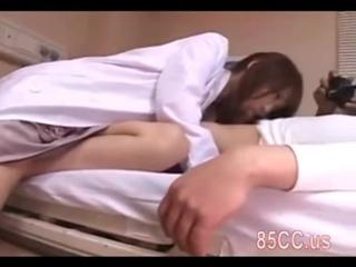 cute nurse threesome creampie f