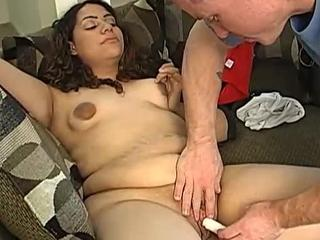 Cut chubby enjoy fucking a dick